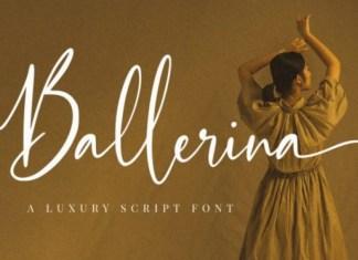 Ballerina Calligraphy Font
