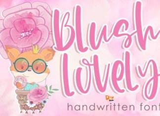 Blush Lovely Font