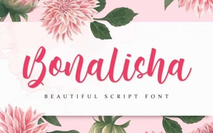 Bonalisha Script Font