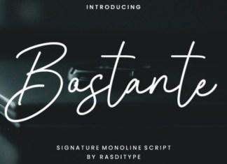 Bostante Handwritten Font