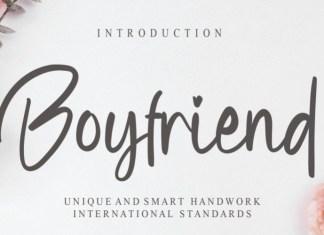 Boyfriend Font