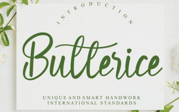 Butterice Font