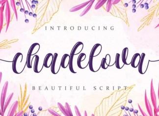 Chadelova Script Font