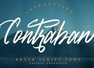 Contraban Script Font