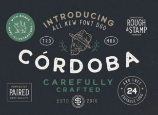 Cordoba Display Font