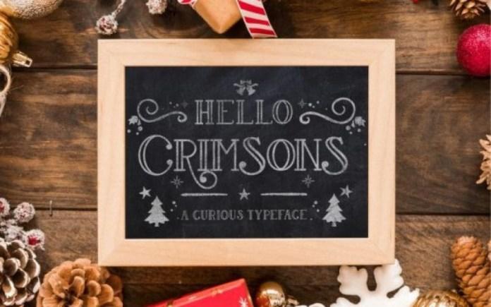 Crimsons Font