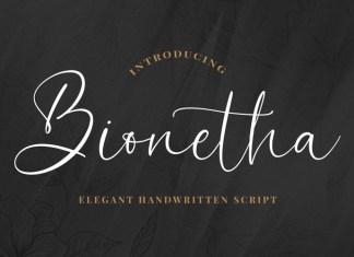 Bionetha Script Font