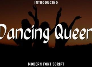Dancing Queen Display Font