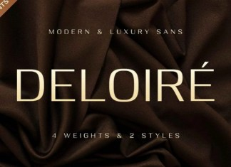 Deloire Sans Serif Font