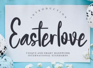 Easterlove Font