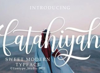 Fatahiyah Calligraphy Font