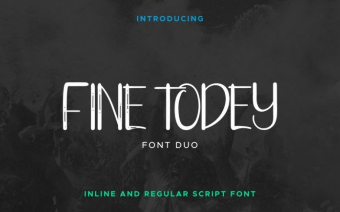 Fine Todey Display Font