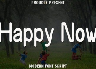 Happy Now Font