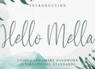 Hello Mella Font