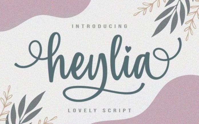 Heylia Font
