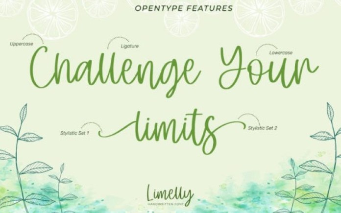 Limelly Font