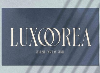 Luxoorea Serif Font