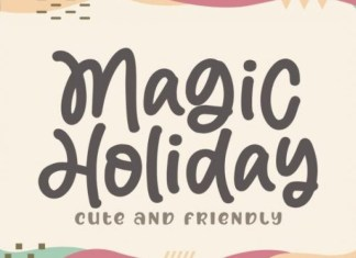 Magic Holiday Handwritten Font