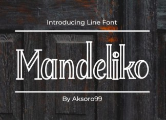 Mandeliko Display Font