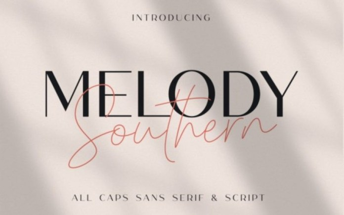 Melody Southern Font