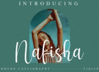 Nafisha Script Font