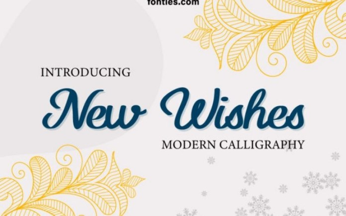 New Wishes Script Font