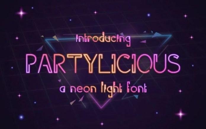 Parylicious Display Font