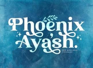 Phoenix Ayash Serif Font