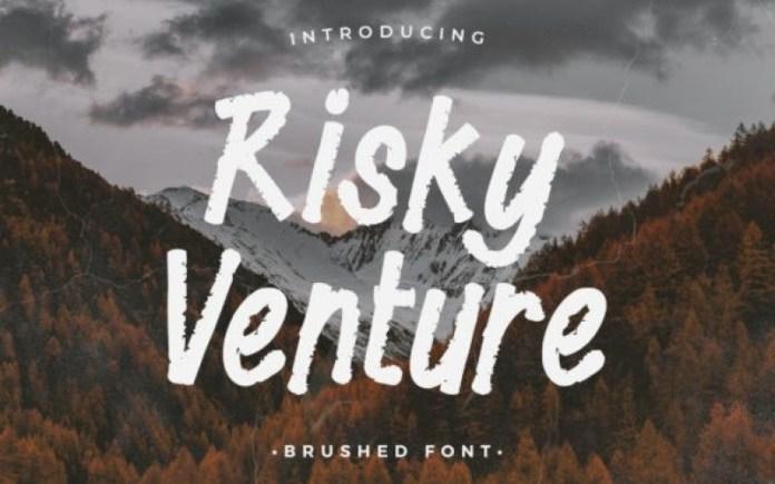 Risky Venture Font