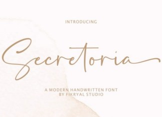 Secretoria Script Font
