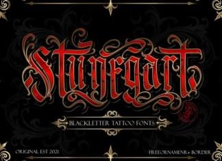 Stunegart Blackletter Font