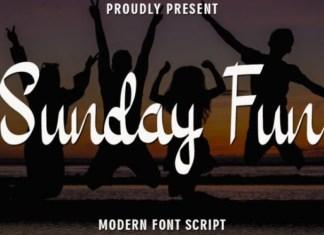 Sunday Fun Font
