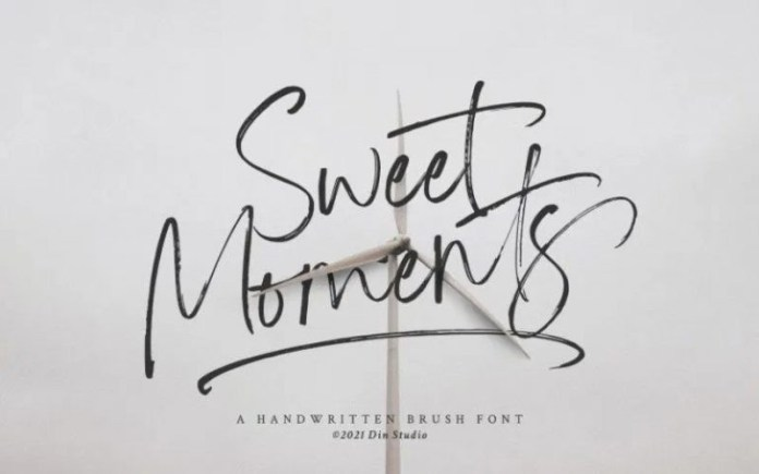 Sweet Moments Font