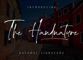 The Handnature Font
