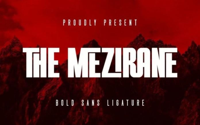 THE MEZIRANE Sans Serif Font