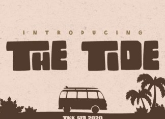 The Tide Font