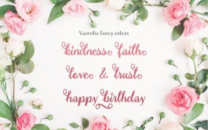 Vazeelia Calligraphy Font