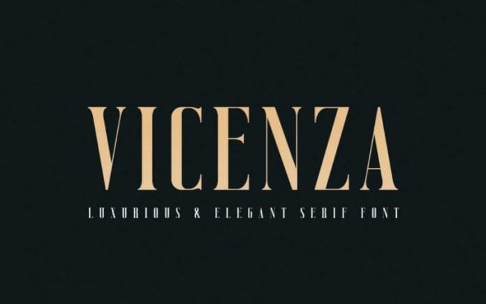Vicenza Serif Font