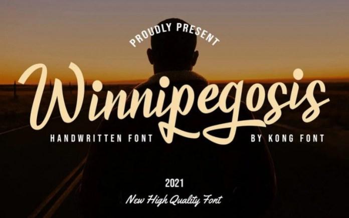 Winnipegosis Script Font