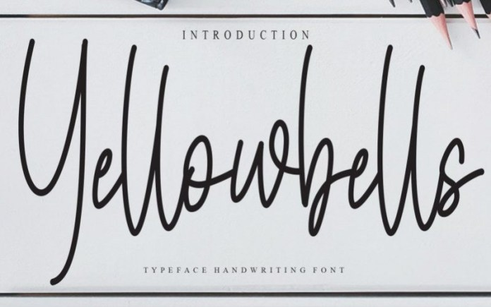 Yellowbells Font