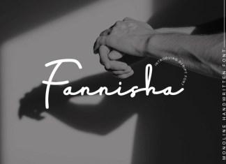 Fannisha Handwritten Font
