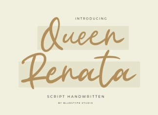 Queen Renata Handwritten Font