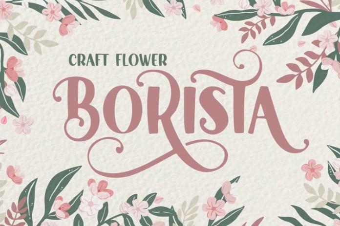 Beauty Florist Display Font