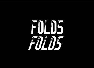 Folds Display Font