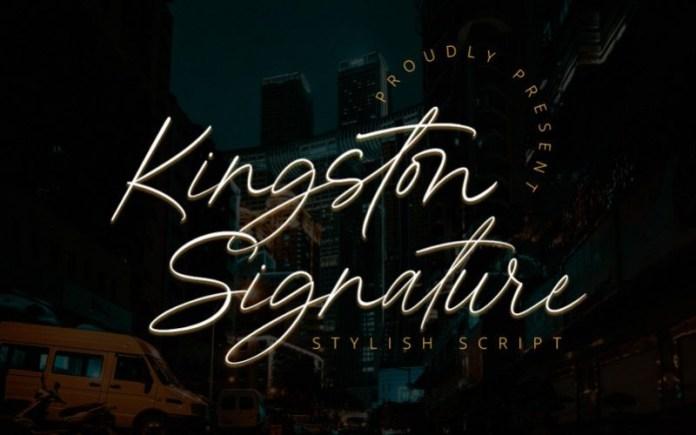 Kingston Handwritten Font