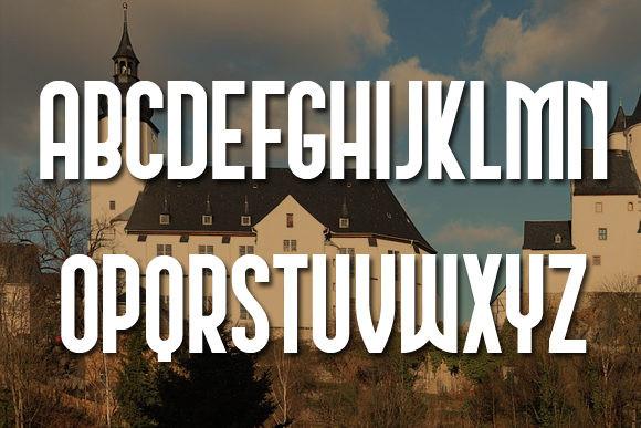 Schwarzenberg Display Font