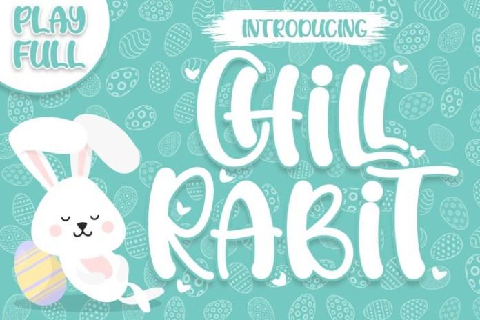 Chill Rabit Display Font