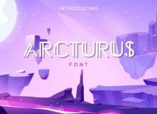 Arcturus Display Font