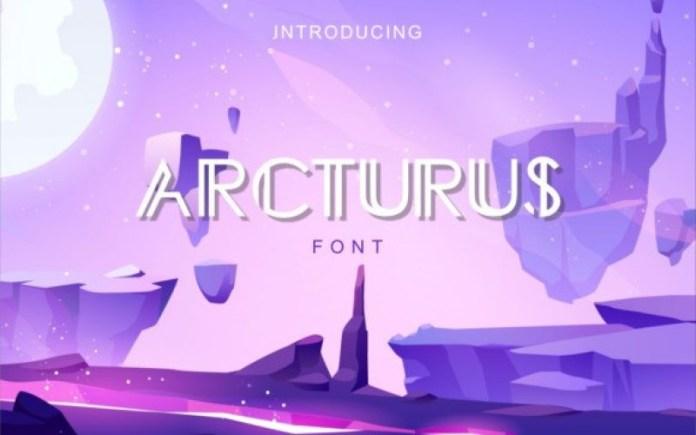 Arcturus Display Font