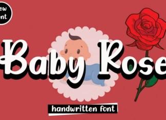 Baby Rose Display Font